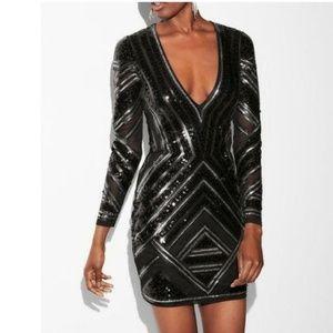 *NWT* EXPRESS Sequin Dress (XS)